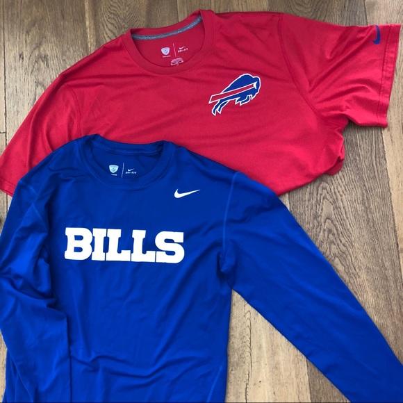 buffalo bills dri fit shirt